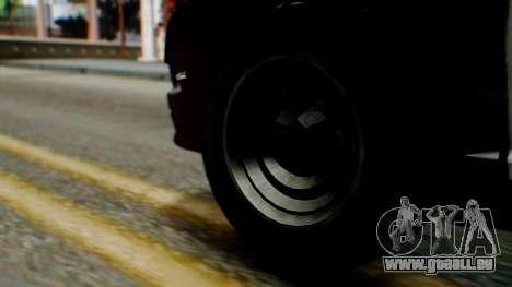 GTA 5 Police SF pour GTA San Andreas sur la vue arrière gauche