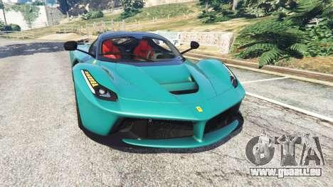 Ferrari LaFerrari 2015 v1.2 pour GTA 5
