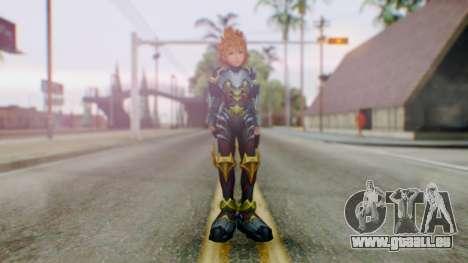 KHBBS - Ventus Armor (Helmetless) pour GTA San Andreas deuxième écran