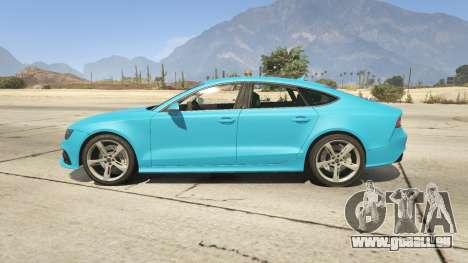 GTA 5 Audi RS7 linke Seitenansicht