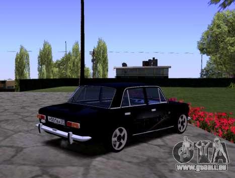 VAZ 2101 KBR pour GTA San Andreas vue intérieure