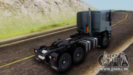 Iveco EuroTech v2.0 Cab Low pour GTA San Andreas laissé vue