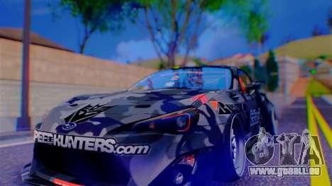 Aero Project Art 0.248 pour GTA San Andreas deuxième écran