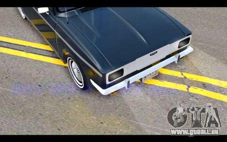 Peykan 1347 Classic für GTA San Andreas Seitenansicht