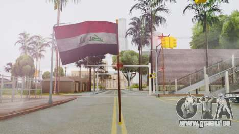 Iraq Flag HD für GTA San Andreas