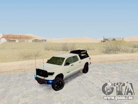 Toyota Tundra 2012 Semi-Off-road pour GTA San Andreas
