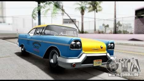 GTA 5 Declasse Cabbie v2 pour GTA San Andreas
