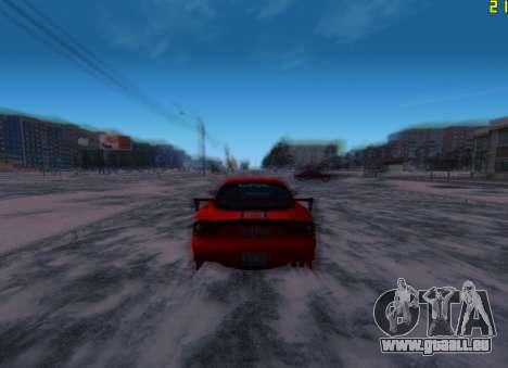 Fast ENB V.31 pour GTA San Andreas troisième écran