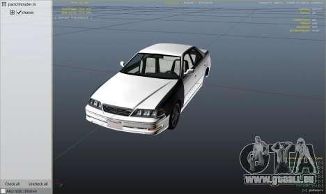 Toyota Mark II JZX100 Tunable pour GTA 5