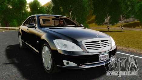Mercedes-Benz S600L 2008 pour GTA 4 est un droit