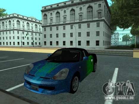 Toyota MR-S Tunable für GTA San Andreas Seitenansicht