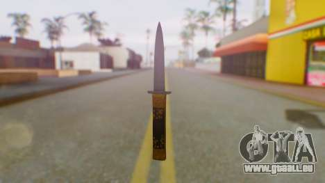 GTA 5 VIP Switchblade für GTA San Andreas zweiten Screenshot