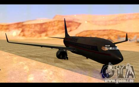 Boeing 737-800 American Airlines pour GTA San Andreas