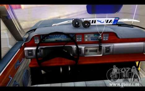Peykan 1347 Classic für GTA San Andreas zurück linke Ansicht