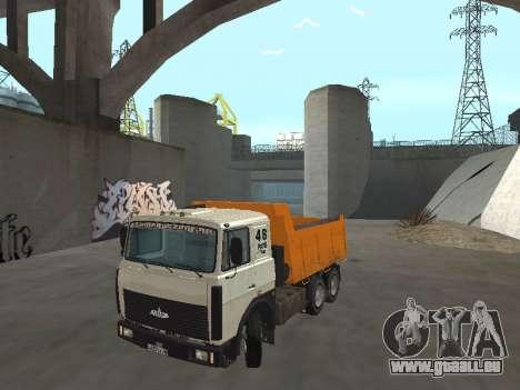 MAZ 551605-221-024 pour GTA San Andreas