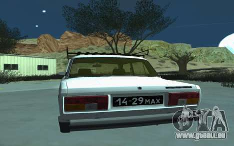 VAZ 2105 pour GTA San Andreas pour GTA San Andreas vue de droite