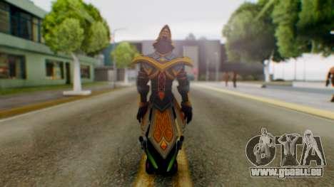 Masteryi League of Legends Skin pour GTA San Andreas troisième écran