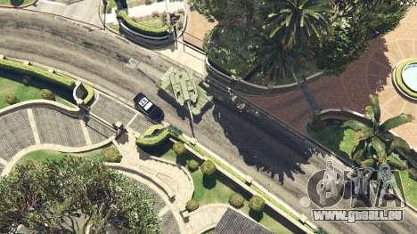 GTA 5 K2 Black Panther droite vue latérale