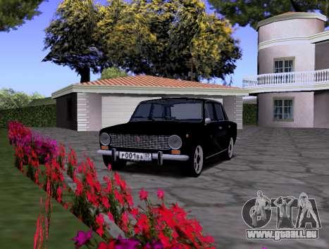 VAZ 2101 KBR pour GTA San Andreas vue de droite