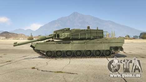 GTA 5 K2 Black Panther vue latérale gauche