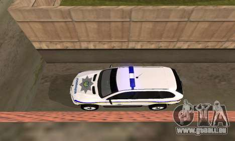 BMW X5 Ukranian Police für GTA San Andreas Innenansicht