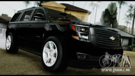 Chevrolet Tahoe 2015 pour GTA San Andreas