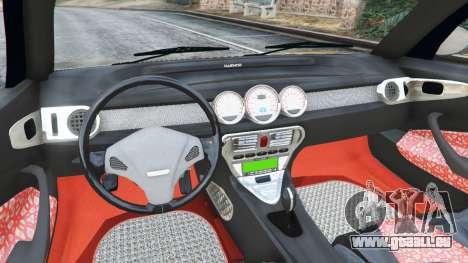 GTA 5 Daewoo Joyster Concept 1997 v1.4 arrière droit vue de côté