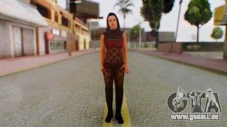 WWE Aksana pour GTA San Andreas deuxième écran