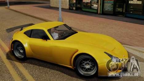 GTA 5 Bravado Verlierer pour GTA San Andreas sur la vue arrière gauche