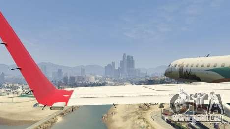 GTA 5 Embraer 195 Wind achten Screenshot