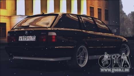 BMW M5 E34 Touring 1995 pour GTA San Andreas laissé vue