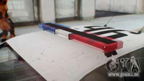 GTA 5 Vapid Stanier II Police pour GTA San Andreas vue de droite