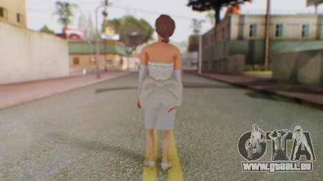 Miss Elizabeth pour GTA San Andreas troisième écran