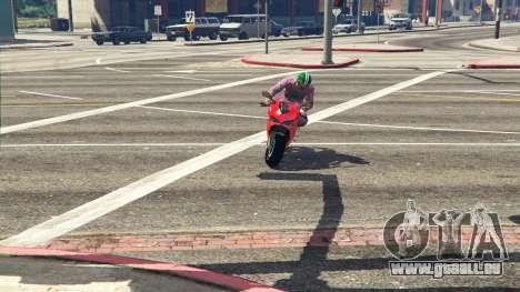 GTA 5 Ducati 1299 Panigale S v1.1 Rückansicht