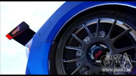 Subaru BRZ STi Concept 2016 pour GTA San Andreas vue de droite