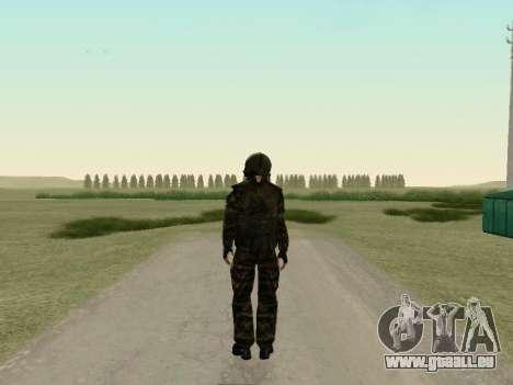 Russische Soldaten in der gas-Maske für GTA San Andreas dritten Screenshot