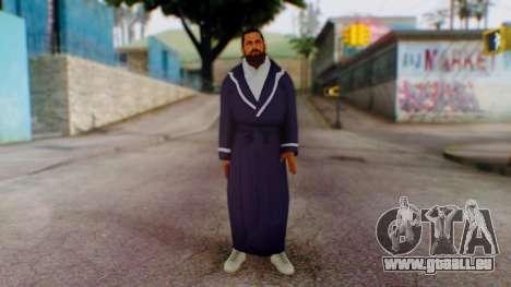 WWE Damien Sandow 1 pour GTA San Andreas deuxième écran