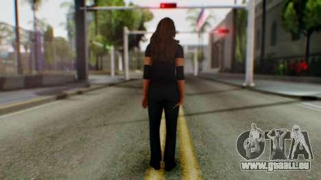 Stephani WWE pour GTA San Andreas troisième écran