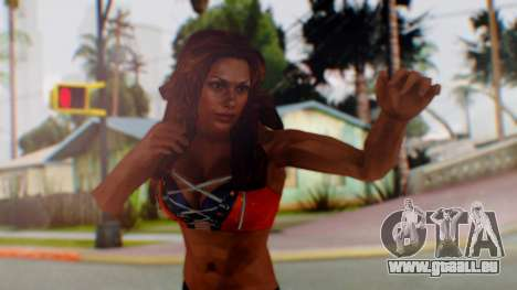 Micki James für GTA San Andreas