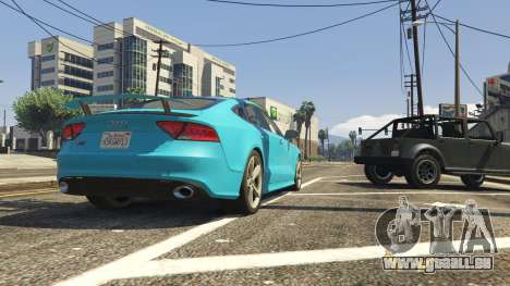 GTA 5 Audi RS7 hinten rechts