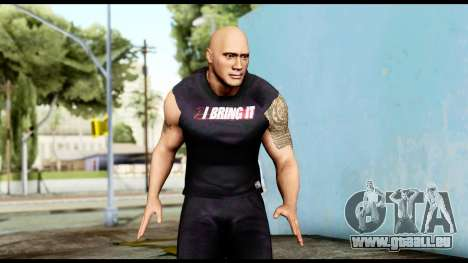 WWE The Rock 2 pour GTA San Andreas