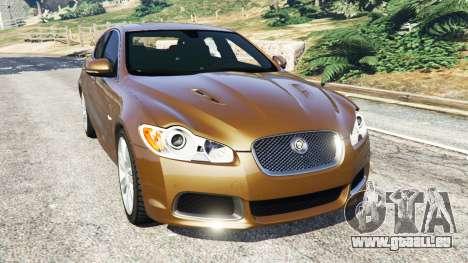 Jaguar XFR 2010 pour GTA 5
