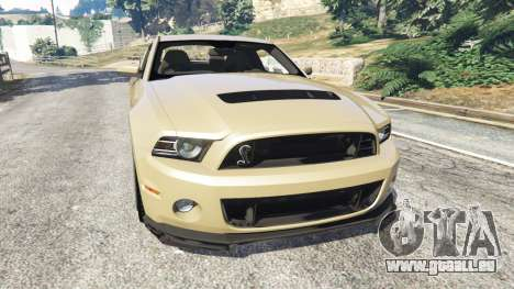 Ford Mustang Shelby GT500 2013 v2.0 pour GTA 5