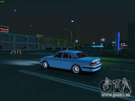 GAZ Volga 3110 pour GTA San Andreas vue intérieure