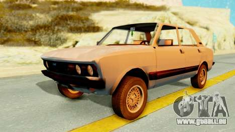 Fiat 132 für GTA San Andreas