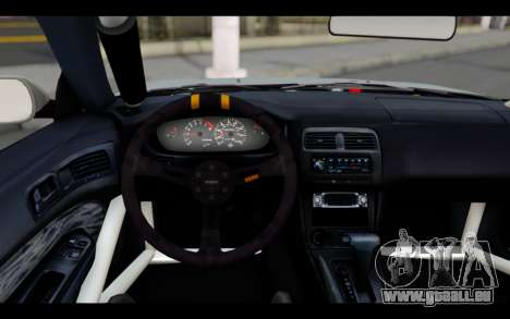 Nissan Silvia S14 Rusty Rebel für GTA San Andreas zurück linke Ansicht