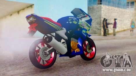 Suzuki FXR150 für GTA San Andreas linke Ansicht