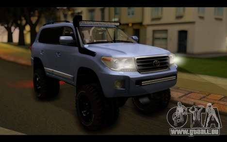 Toyota Land Cruiser 200 2013 Off Road pour GTA San Andreas