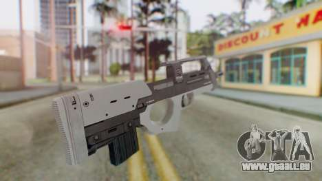 GTA 5 Assault SMG - Misterix 4 Weapons pour GTA San Andreas deuxième écran