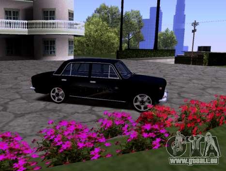 VAZ 2101 KBR pour GTA San Andreas vue de côté